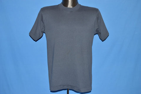 90s Screen Stars Navy Blue Blank t-shirt Small