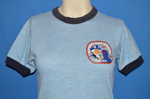 80s Boy Scouts National Jamboree 1981 Ringer t-shirt Extra Small