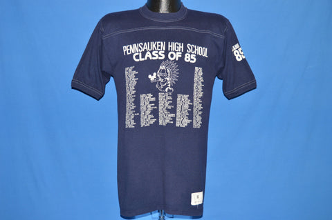 80s Pennsauken High School Class of 1985 Roster t-shirt Small