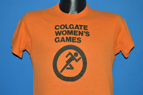 70s Colgate Women's Games Track and Field t-shirt Small