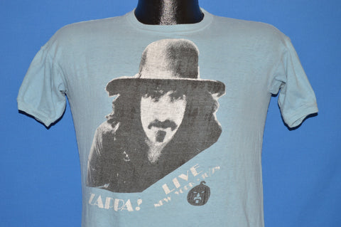 70s Frank Zappa Live in New York 1978 Halloween t-shirt Medium