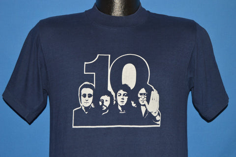 70s The Beatles 10 Year Anniversary Rock t-shirt Medium