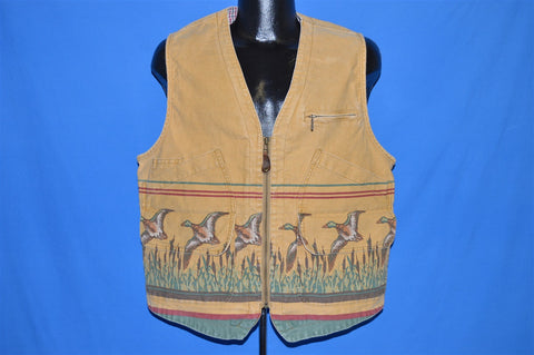 90s Banana Republic Duck Hunting Vest Large