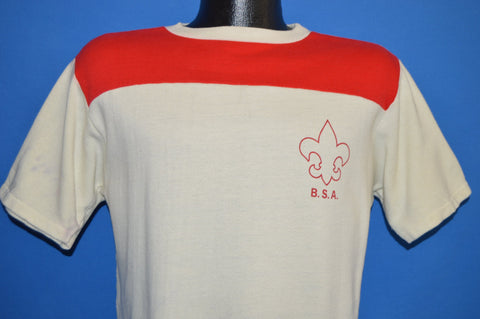 70s Boy Scouts of America Short Sleeve Sweatshirt Medium