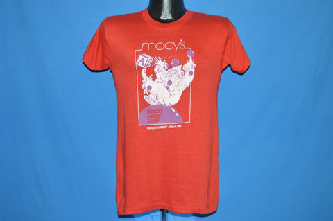 80s Macy's World's Longest Conga Line t-shirt Small