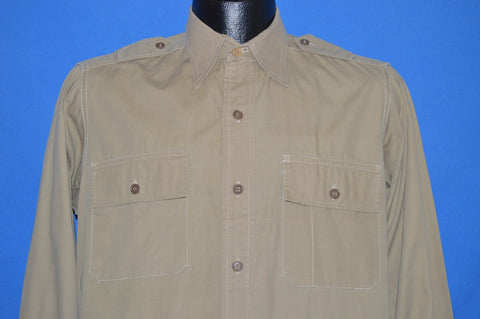 40s Brigadier Regulation Light Weight Officer's Shirt Medium