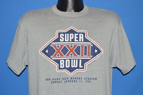 80s Super Bowl XXII 1988 t-shirt Large