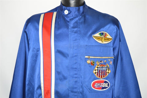 70s Indianapolis Motor Speedway Racing Jacket Medium