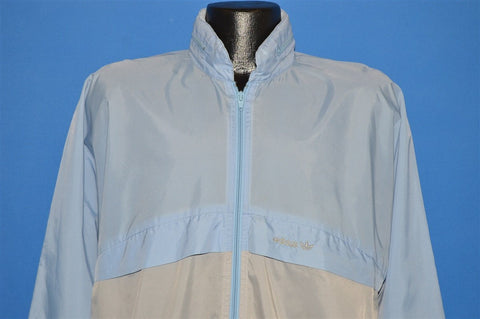 80s Adidas Nylon Windbreaker Jacket Medium