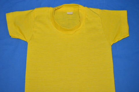 80s Yellow Blank Box Tag Toddler t-shirt 2T