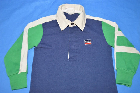 80s Levis Rugby Long Sleeve Polo Toddler 2T