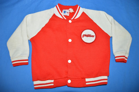 80s Philadelphia Phillies Snap Up Jacket Toddler 2T
