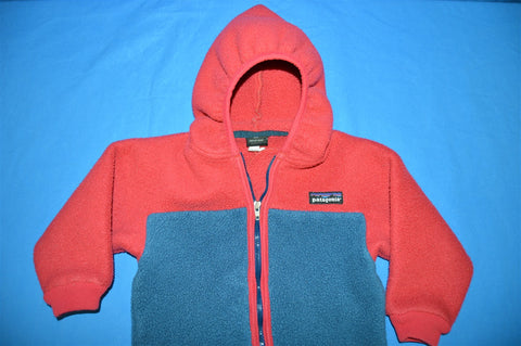 90s Patagonia Fleece Baby Jacket 24 Months