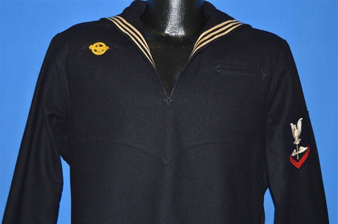 30s US Navy Men's Uniform Undress Pullover Small