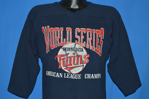 80s Minnesota Twins World Series Champs t-shirt Medium