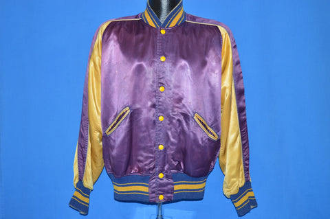 50s Verdigre Hawks Satin Jacket Large