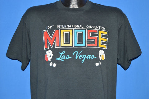 80s 101th International Moose Convention t-shirt Large