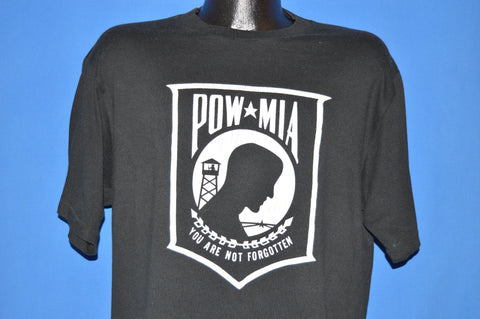 80s POW MIA You Are Not Forgotten Ohio t-shirt Extra Large