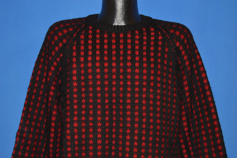 40s Jaeger All Wool Knit Raglan Sweater Large