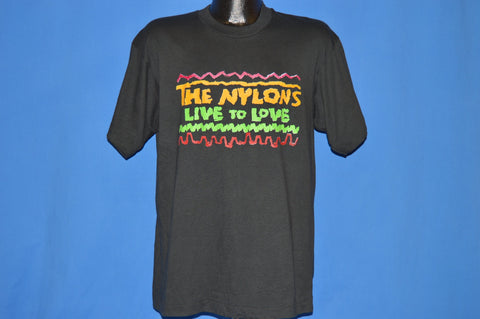 90s The Nylons Live To Love Album 1992 t-shirt Large