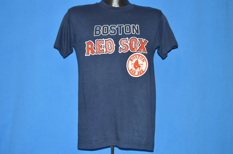 80s Boston Red Sox Logo 7 MLB Baseball t-shirt Small