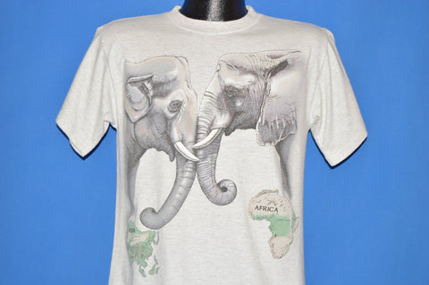 90s Elephants Wrap Around t-shirt Medium