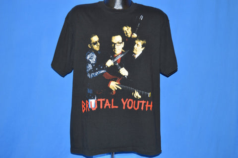 90s Elvis Costello The Attractions Brutal Youth t-shirt Extra Large