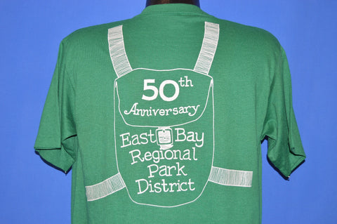 80s East Bay Regional Park 50th California t-shirt Large