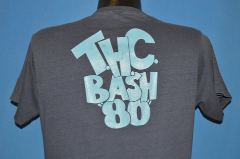 80s Beef N Boogie THC Bash 1980 Cow Beer Funny t-shirt Medium