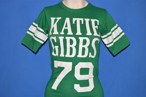 70s Katie Gibbs College #79 Champion t-shirt Extra Small