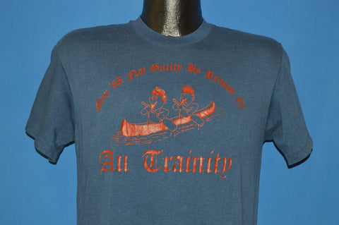 80s Not Guilty By Reason Of All Trainity Funny t-shirt Medium