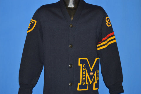 50s Montebello High School 1959 Varsity Cardigan Medium