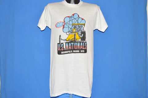 70s NHRA US Nationals Indianapolis Indiana t-shirt Small