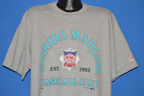 90s Florida Marlins Baseball Club t-shirt Extra Large