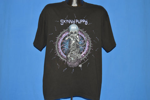 90s Skinny Puppy Last Rights 1992 Album t-shirt Extra Large