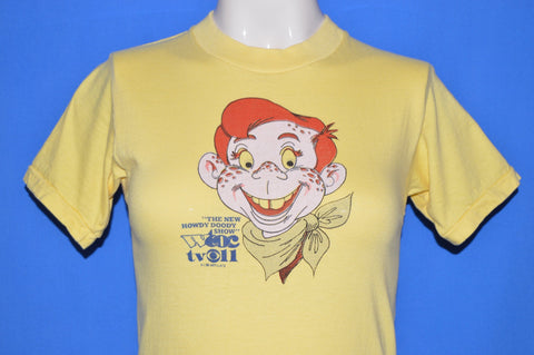 70s New Howdy Doody Show CBS TV t-shirt Youth Large