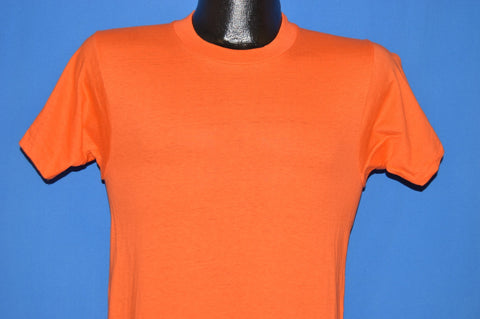 70s Orange Blank Deadstock t-shirt Small