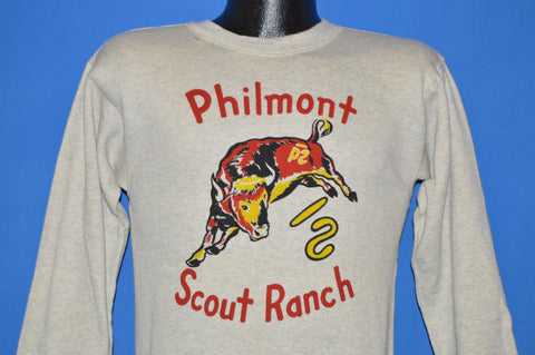60s Boy Scouts Of America Philmont Ranch Sweatshirt Small