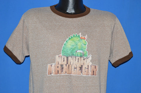 80s No More Mr. Nice Guy Iron On Ringer Funny t-shirt Medium