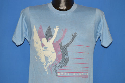 80s Reef Runner Neon Surfing Deadstock t-shirt Small