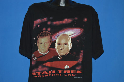 90s Star Trek Generations Movie 1994 t-shirt Extra Large