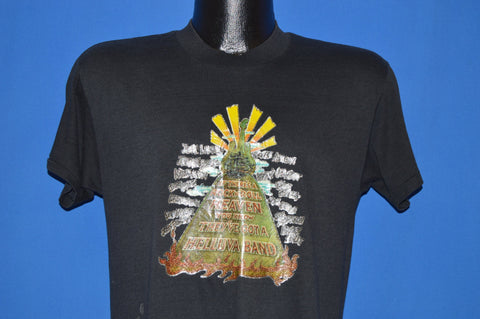 80s Rock N Roll Heaven Glitter Iron On t-shirt Medium