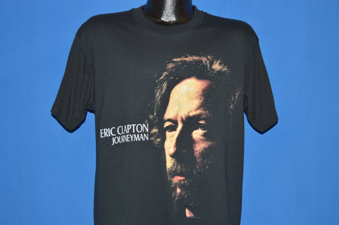 80s Eric Clapton Journeyman Rock Tour t-shirt Large