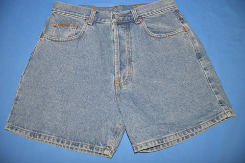 90s CK Calvin Klein High Waist Women's Denim Shorts sz 31