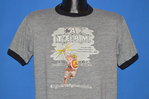 80s A Team Company 67th Signal Battalion t-shirt Large