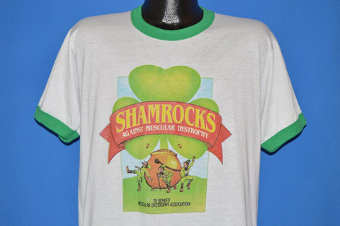 80s Shamrocks Against Muscular Dystrophy t-shirt Large