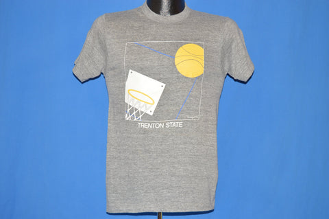 80s Trenton State College Basketball t-shirt Small