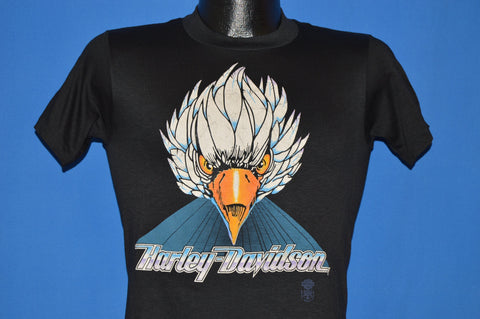 80s Harley Davidson Motorcycle Eagle t-shirt Extra Small