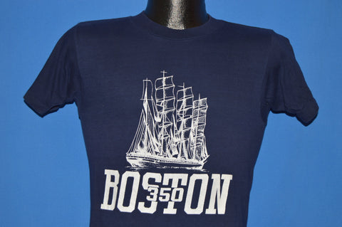 80s Boston 350th Tall Ships t-shirt Extra Small