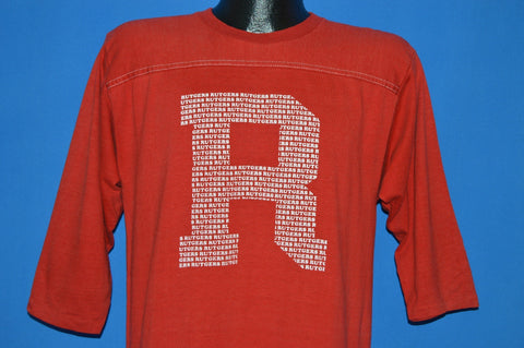 80s Rutgers Scarlet Knights New Jersey t-shirt Large